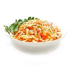 Витаминный салат в весенний период