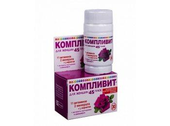 Витамины Компливит для женщин старше 45 лет