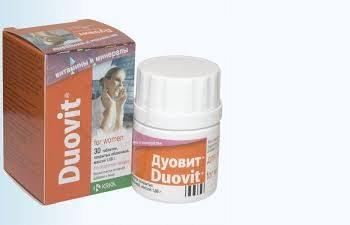 Женский комплекс витаминов для иммунной системы Дуовит