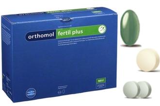 Немецкие витамины Отромол Фертил плюс помогают мужчинам улучшить сперму при планировании беременности