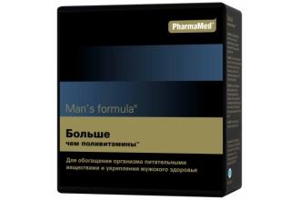 Витамины Man's Formula полезны для улучшения потенции у мужчин